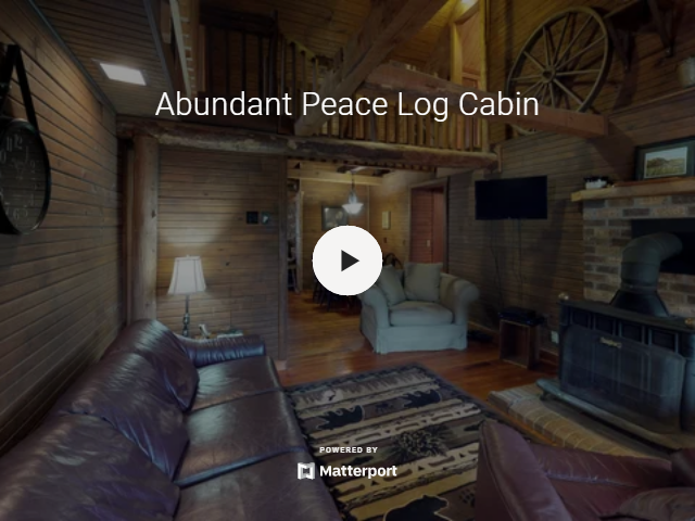Abundant Peace Log Cabin