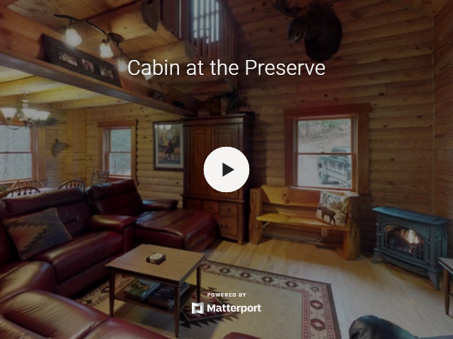 Cabin at the preserve