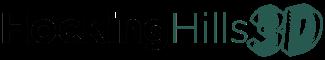 Hocking Hills 3D logo